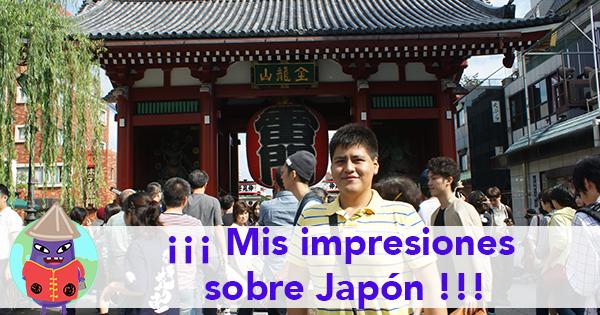 ¡Mis impresiones de Japón!